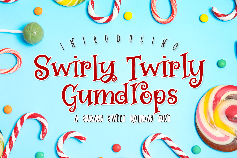 Swirly Twirly Gumdrops example image 1