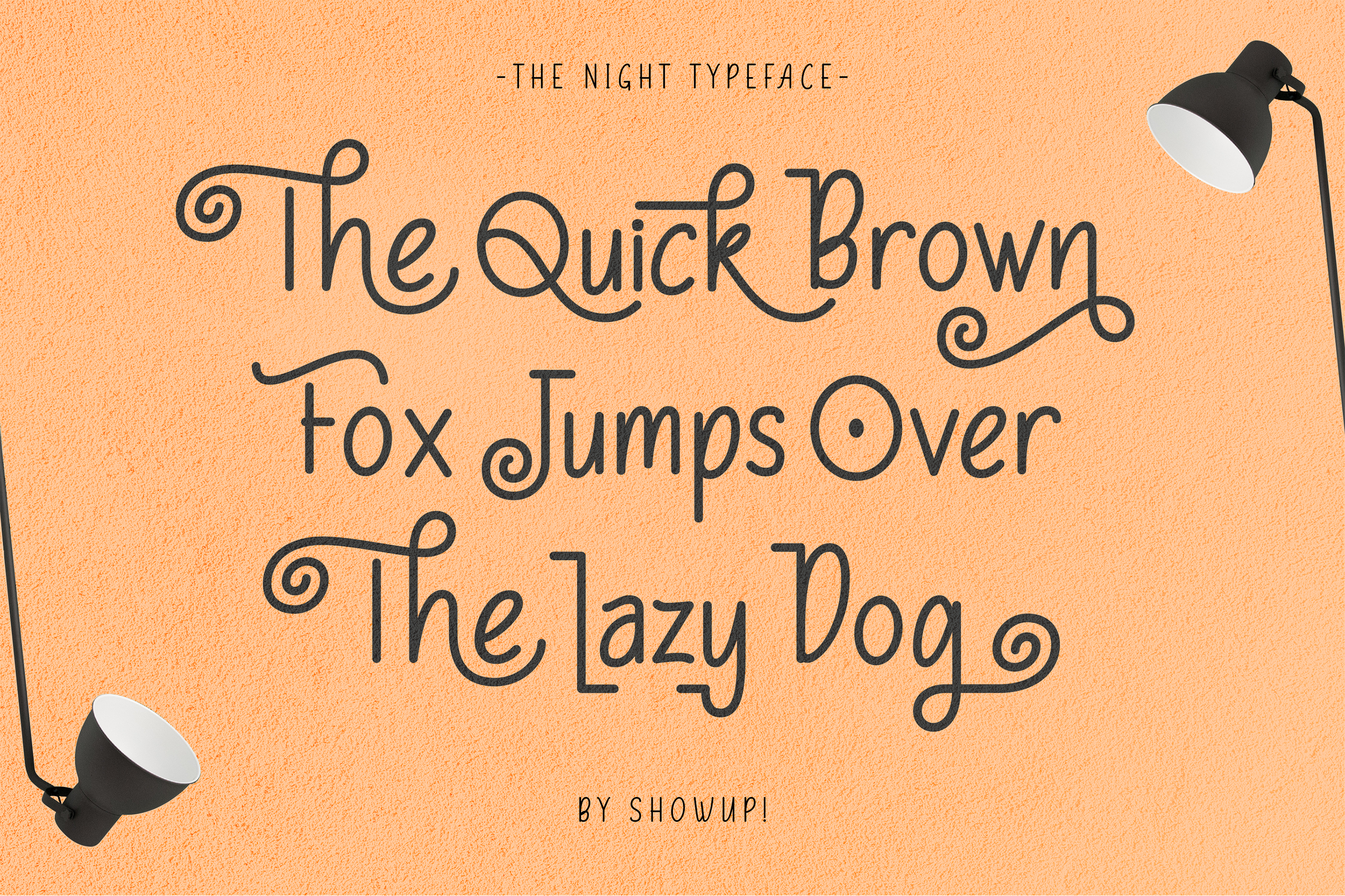 The Night Typeface example image 2
