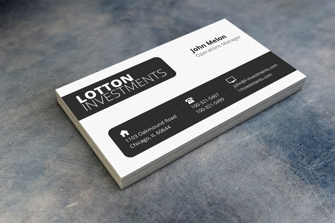 Creative Business Card 3 example image 1