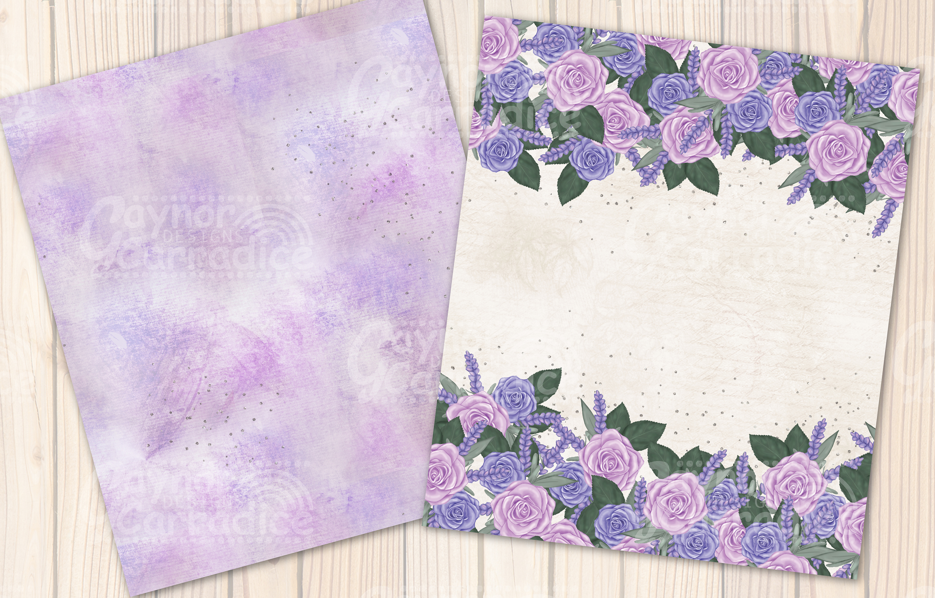 Provence - lavender Seamless Pattern collection example image 5