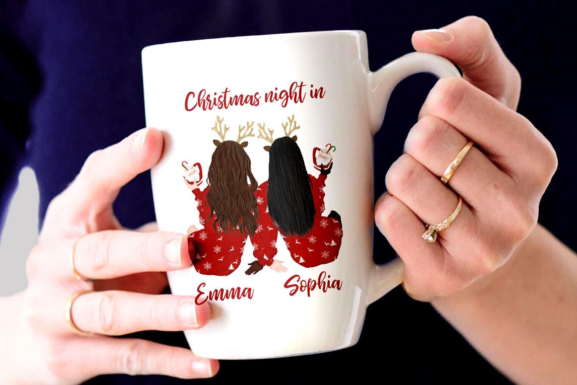 Christmas clipart, Girls Clipart, Planner Girls,Custom Girls example image 4
