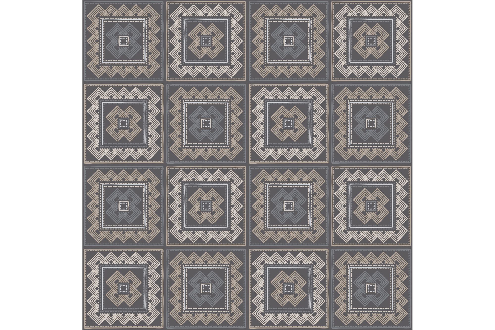 Ethnic boho seamless pattern. Print. Cloth design, wallpaper. 1 of the jpeg file in resolution 4167*4167px and 1 file eps8 1000*1000px. example image 1