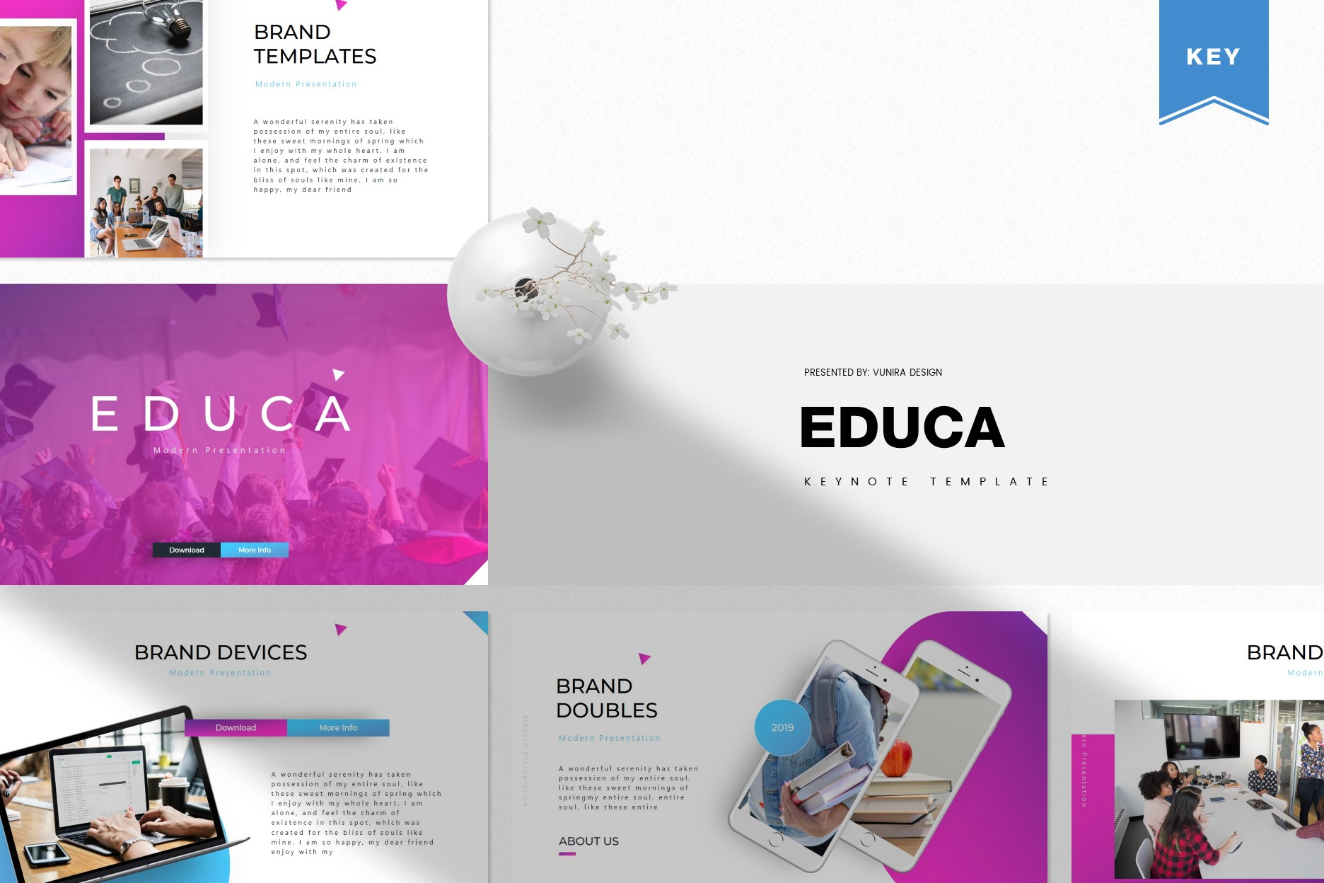 Educa | Powerpoint, Keynote, GoogleSlides Template example image 2