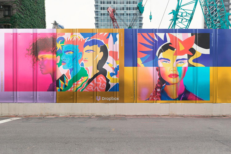 12 Realistic Mural Street Mockup - PSD example image 22
