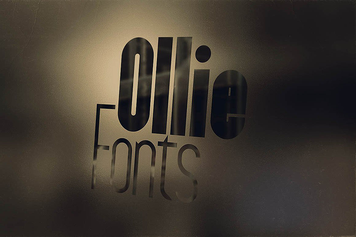 Ollie Typeface example image 2