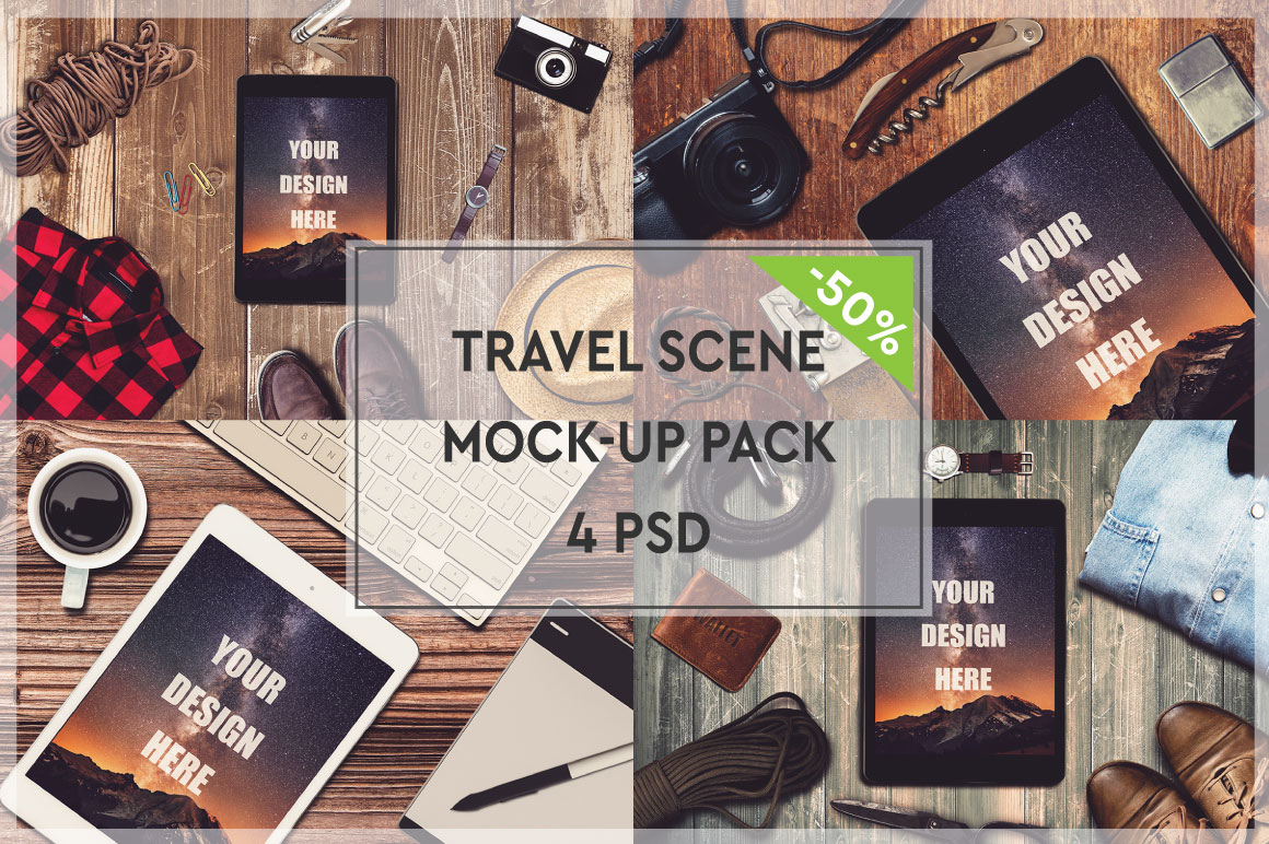 Travel Mock-up Pack #1 example image 1