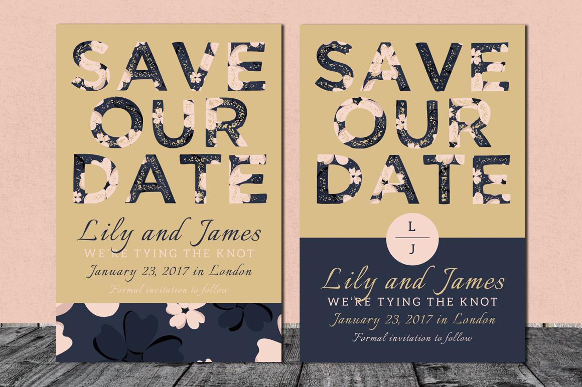 Bloomy - Wedding Invitation Suite example image 4