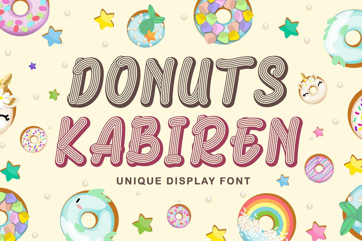 Donuts Kabiren example image 1