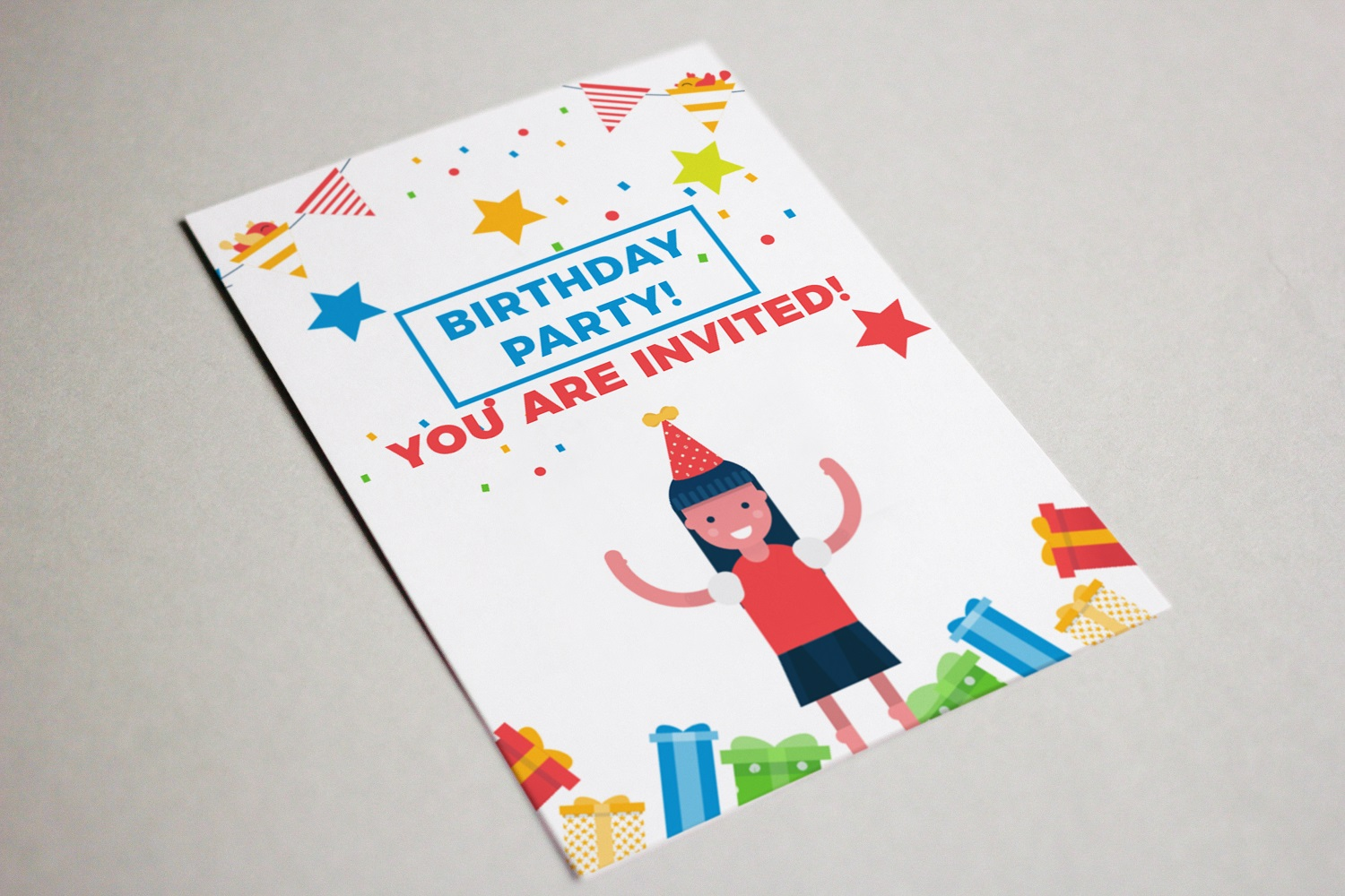 Its a birthday party vector illustration pack example image 4