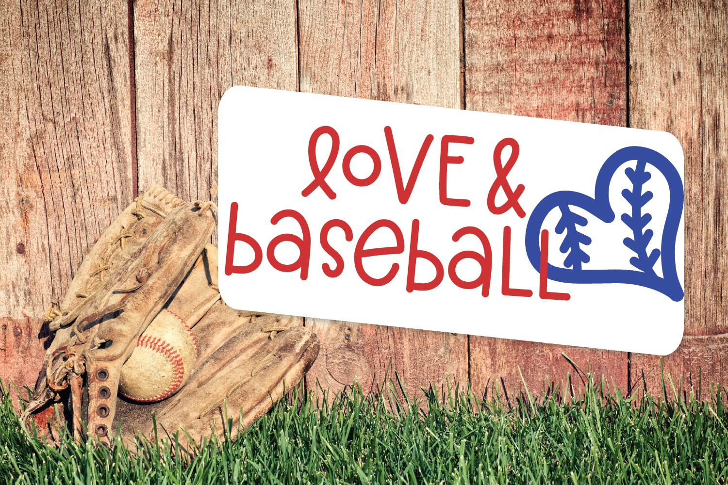 Baseball Momma - A Font Duo example image 2