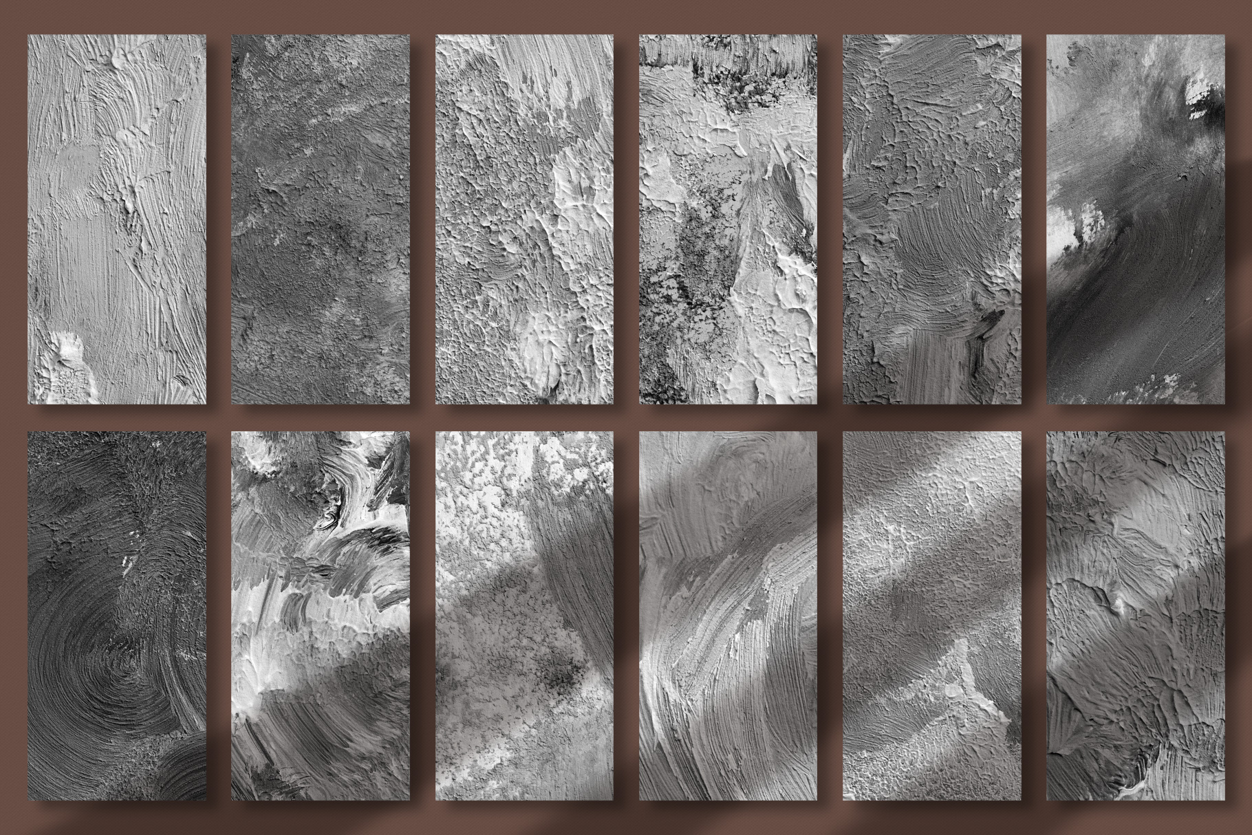 Fine Art Acrylic Paint Textures - Hand Painted Backgrounds example image 17