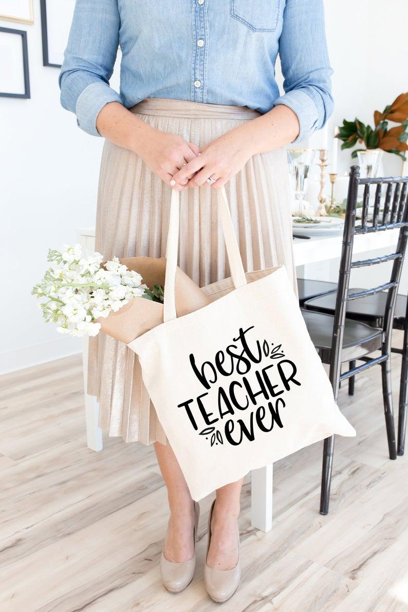 Teacher SVG - Best Teacher Ever SVG example image 2