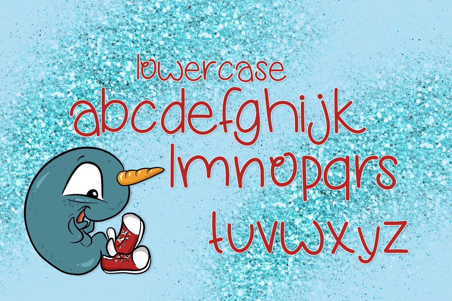 Narwhal Shoes, A Handwritten Font example image 3