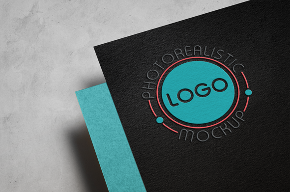 Logo Mock-Up Paper Edition example image 7