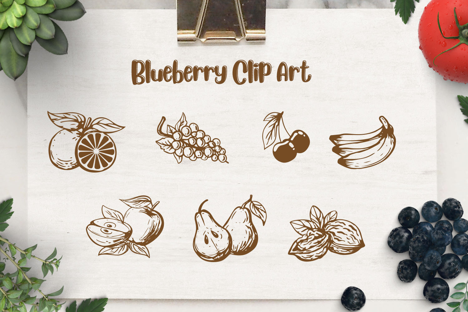 Blueberry - Layered Font example image 7