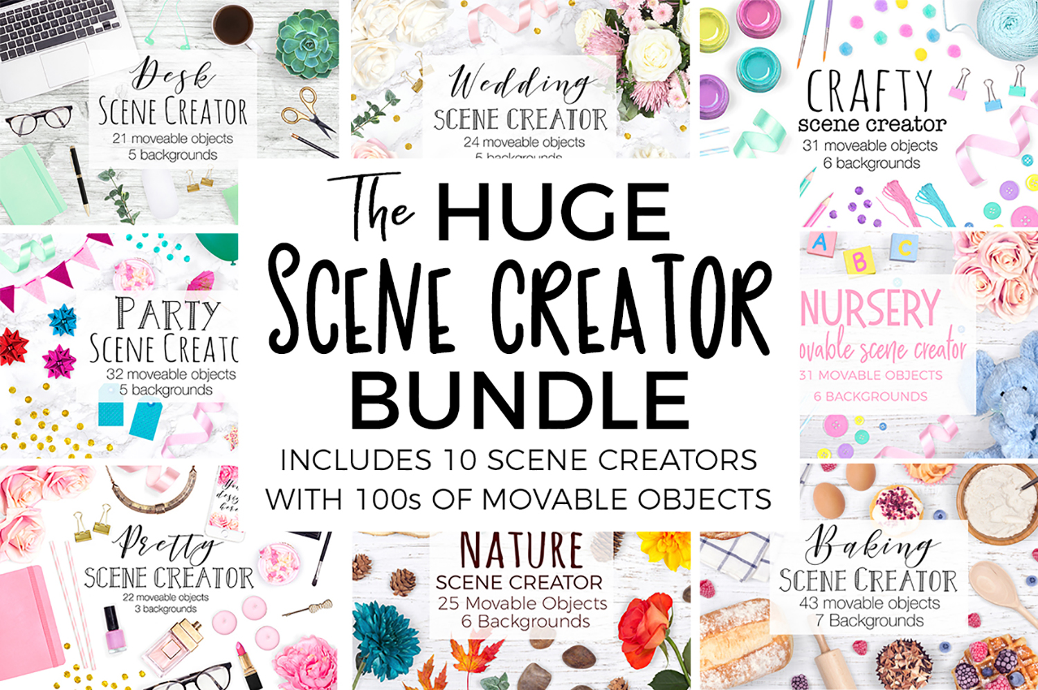 The HUGE Scene Creator Bundle example image 1