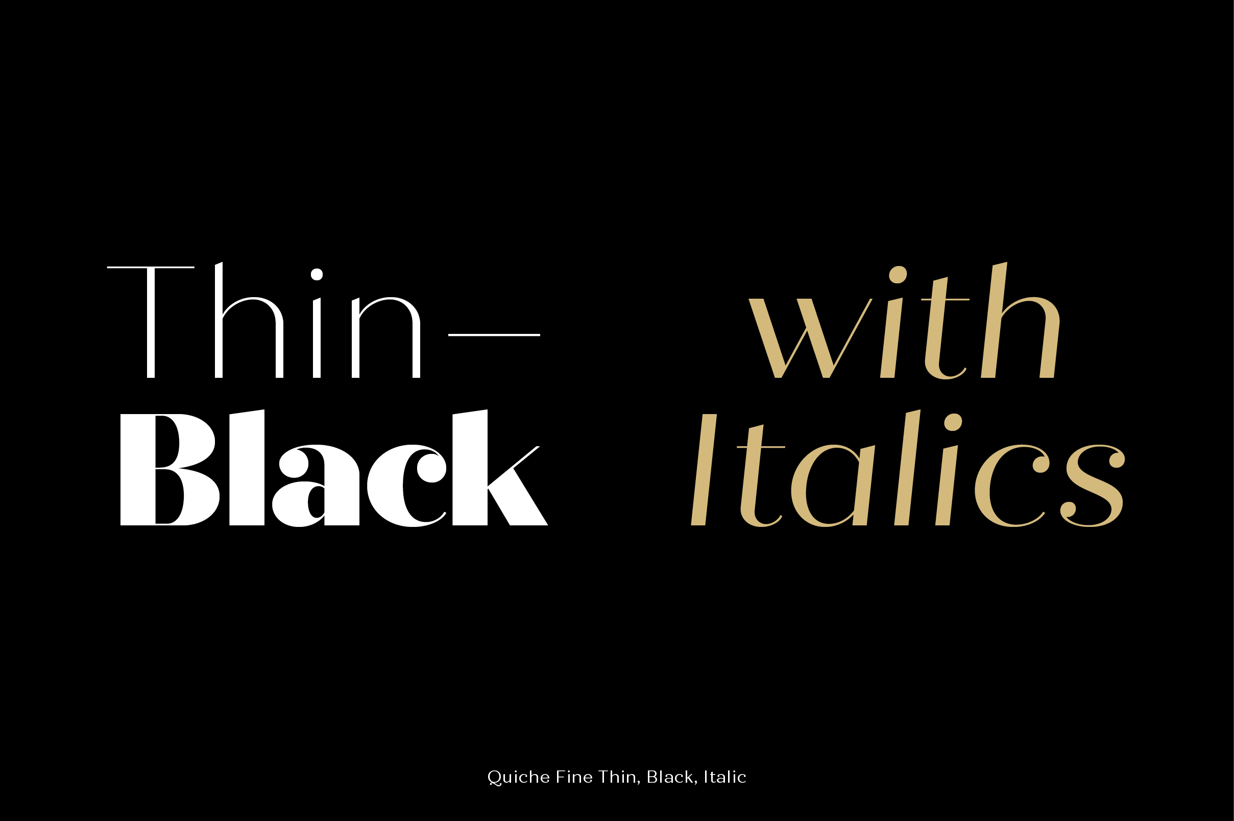 Quiche Font Family example image 5