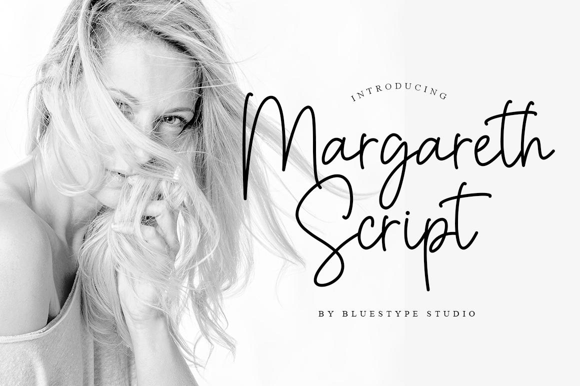 Margareth Script example image 1