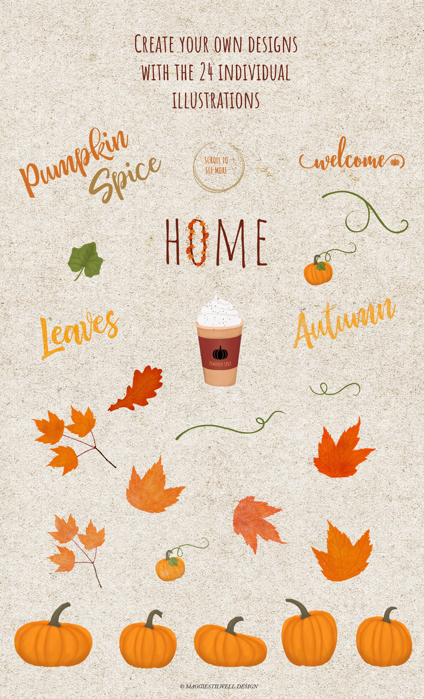 Autumn Printables & Illustrations example image 8