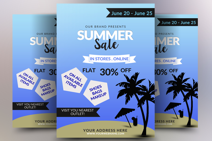 Big Sale Flyer example image 1