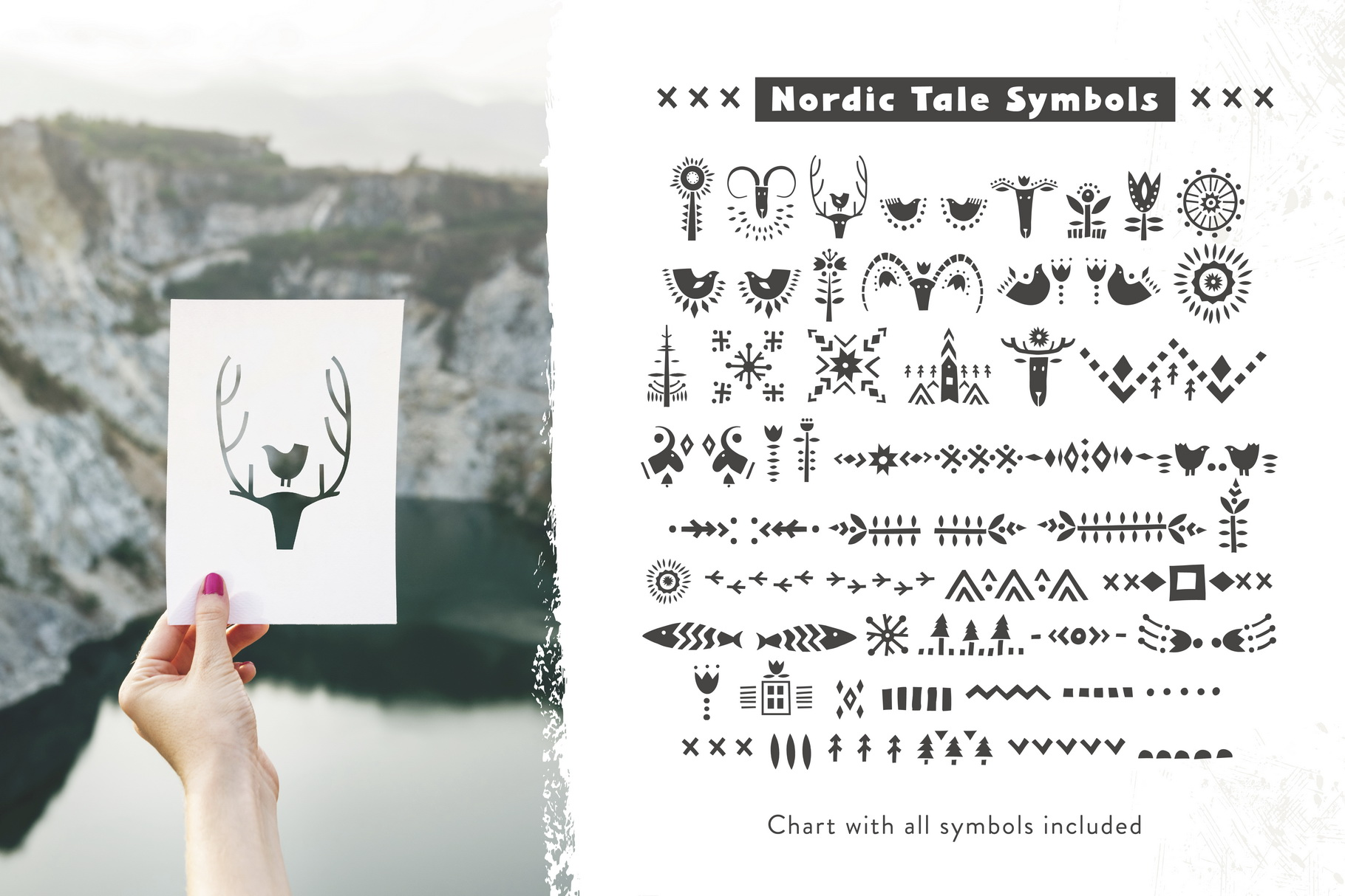 Nordic Tale - Folkart Font Family example image 6
