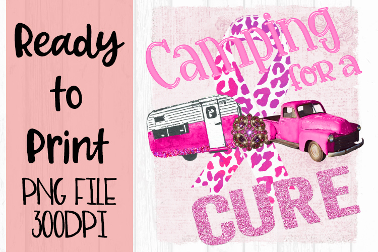 Camping for a Cure Ready to Print example image 1