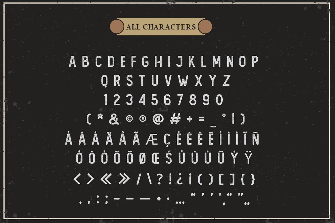 The Foregen - Vintage Sans Serif example image 5