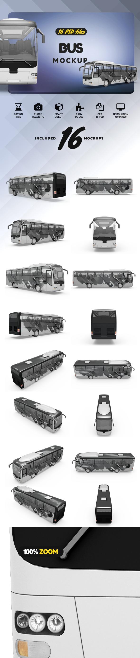 Bus Mockup example image 2