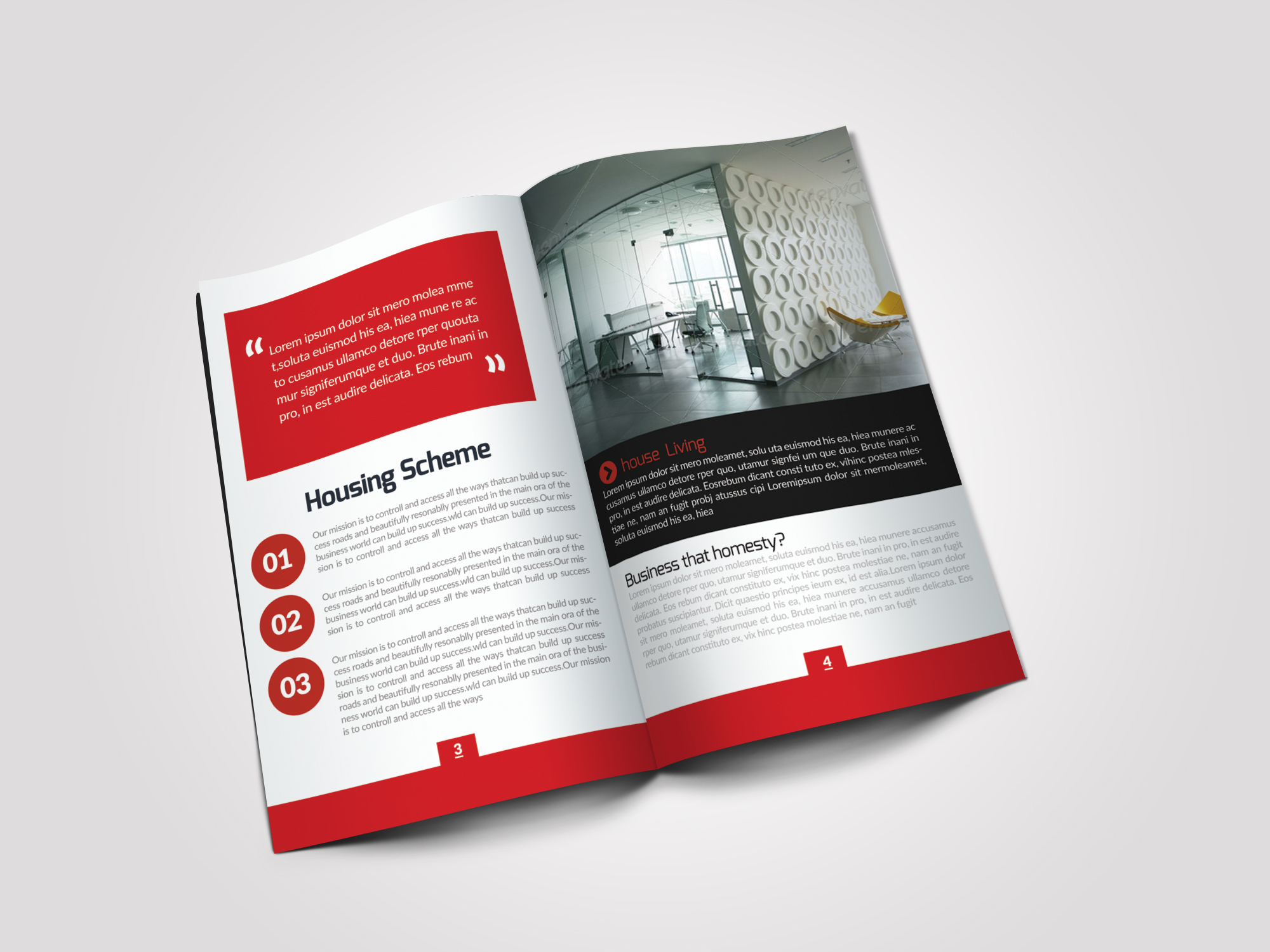 12 Pages Employment Business Bifold Brochure example image 7