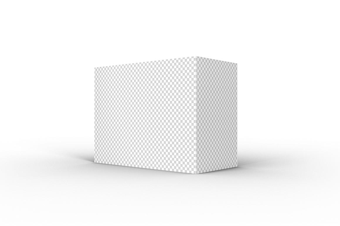 4.3.2 Simple 3D Box Mockup PSD example image 2