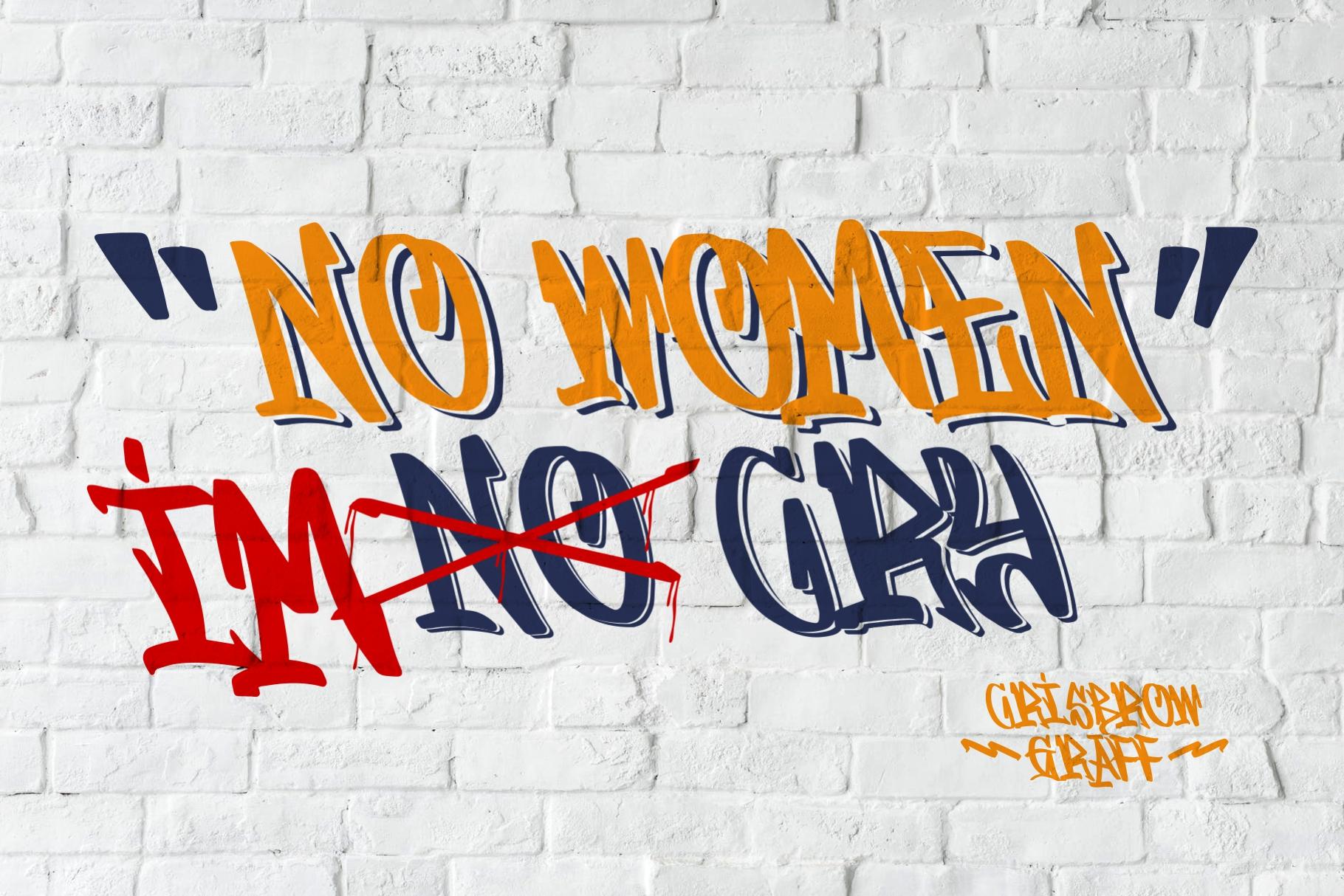 GRAFFITASI - Street Fonts example image 3