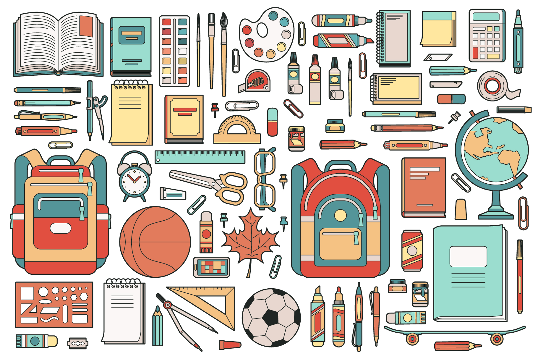 Back To School Supplies Bundle example image 2