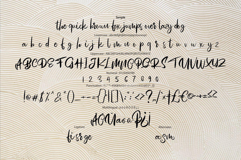 Mosem | Swirl Script Font example image 6