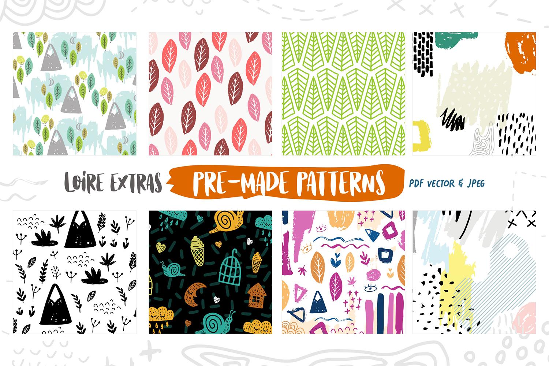 Loire Font Pack & Graphic Bundle example image 9