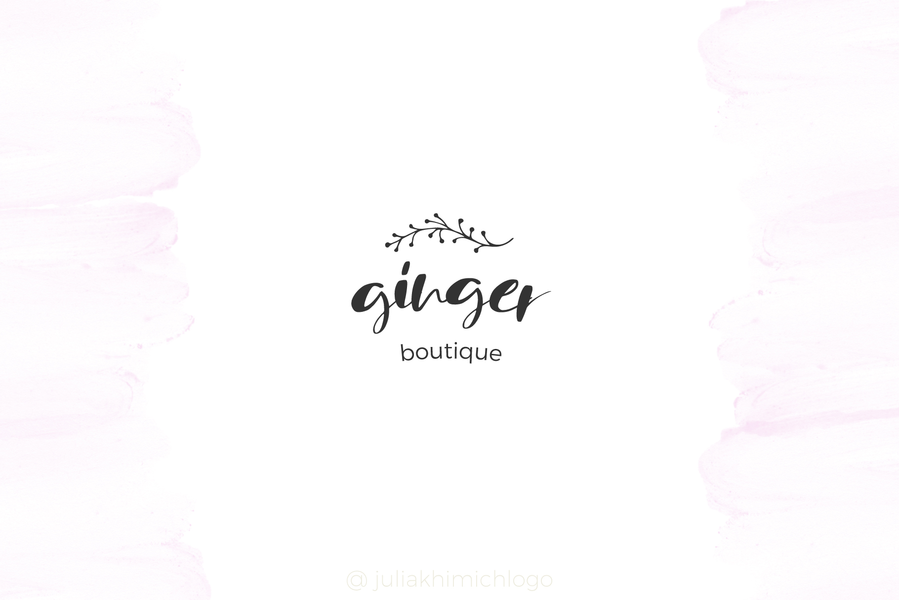 Logo Pack Vol.2. Romantic & Wedding example image 7