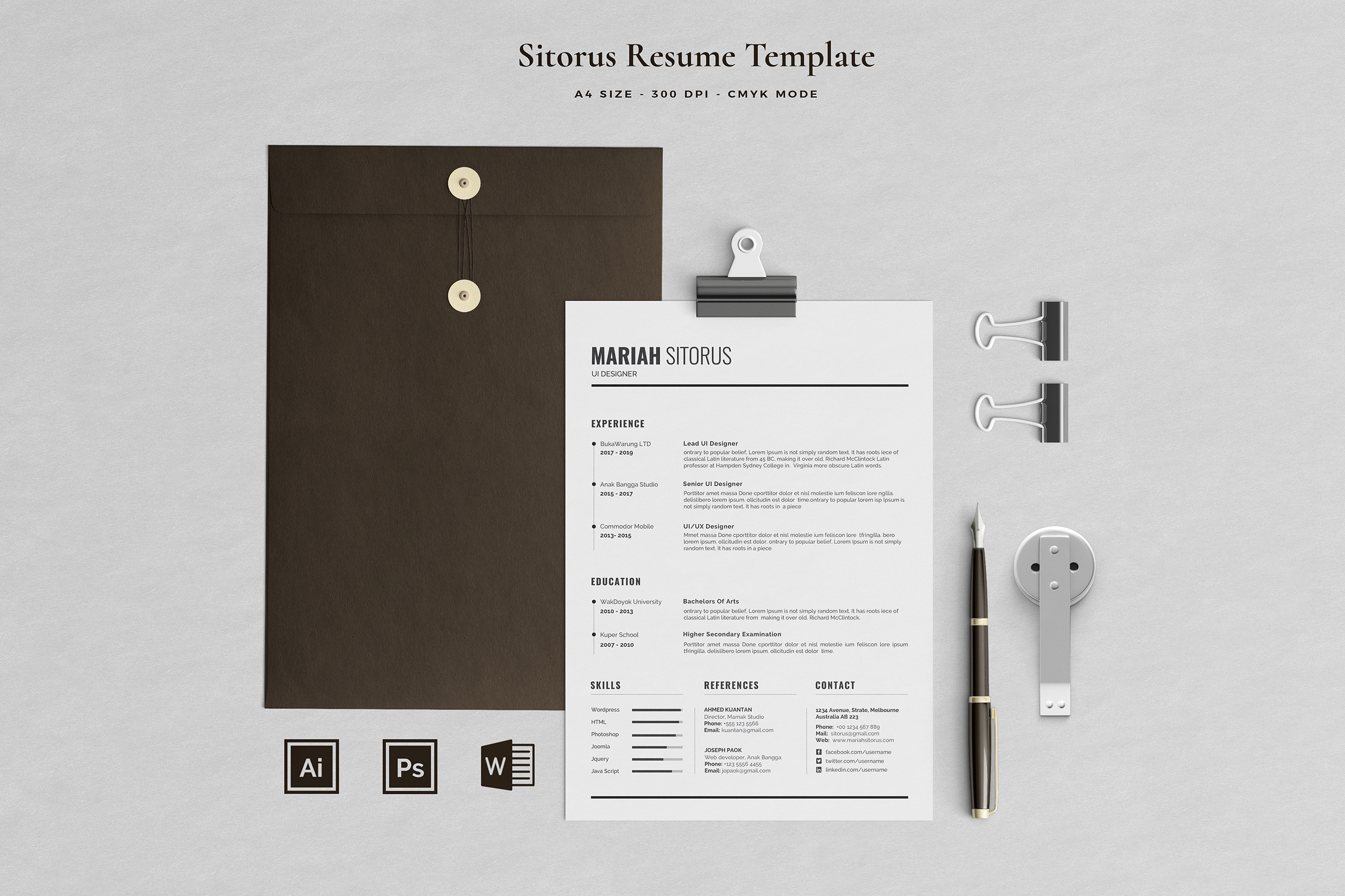 Job Seeker's Resume Bundle example image 13