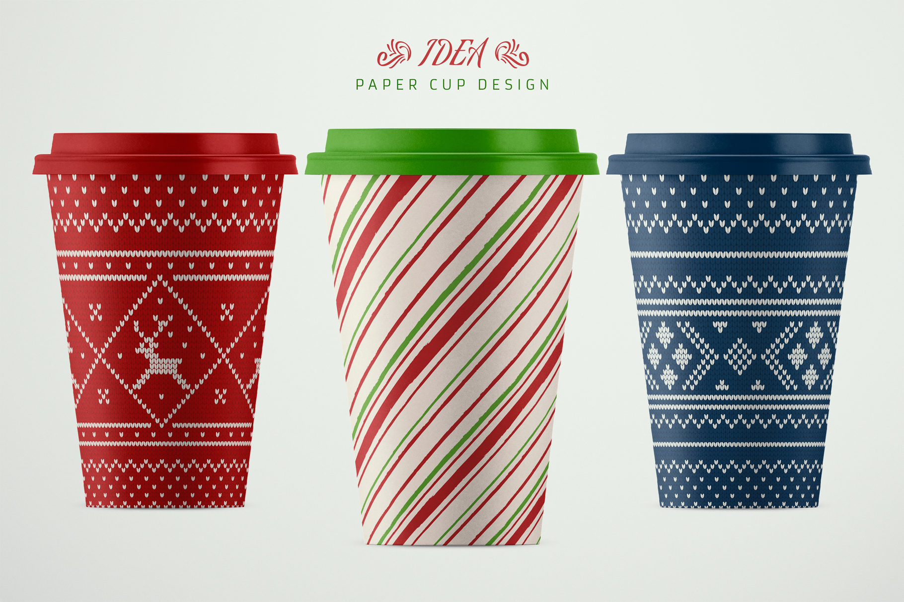 100 Seamless Patterns Vol.4 Christmas example image 13