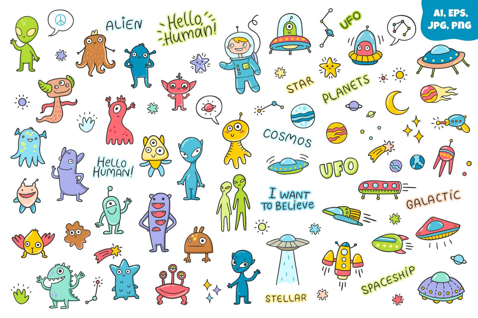 Aliens & UFOs example image 2