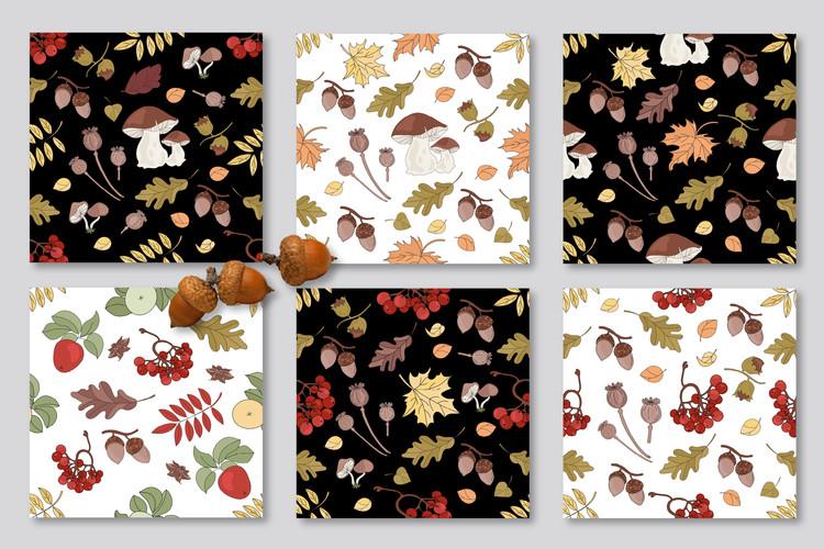 FALL ADVENTURES Autumn Season Cartoon Vector Illustration example image 6