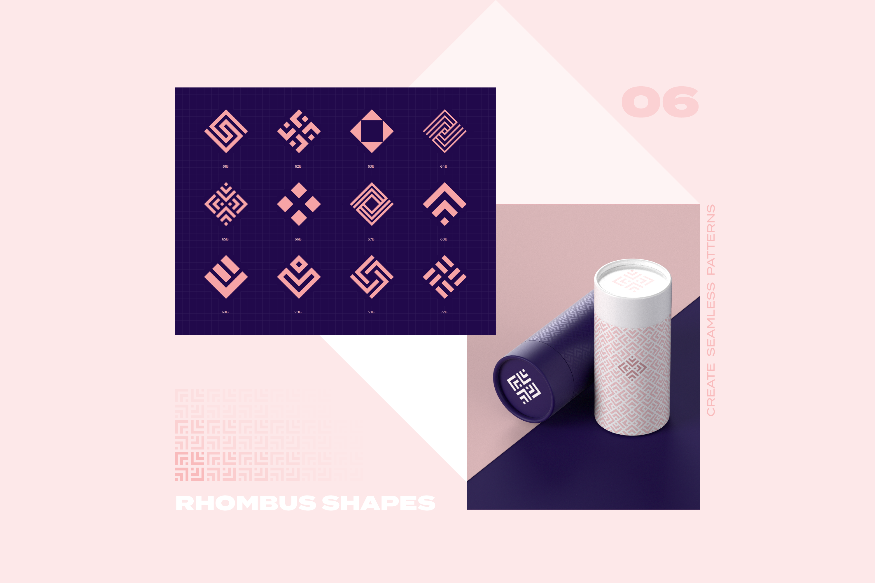 96 Geometric shapes & logo marks collection VOL.1 example image 16