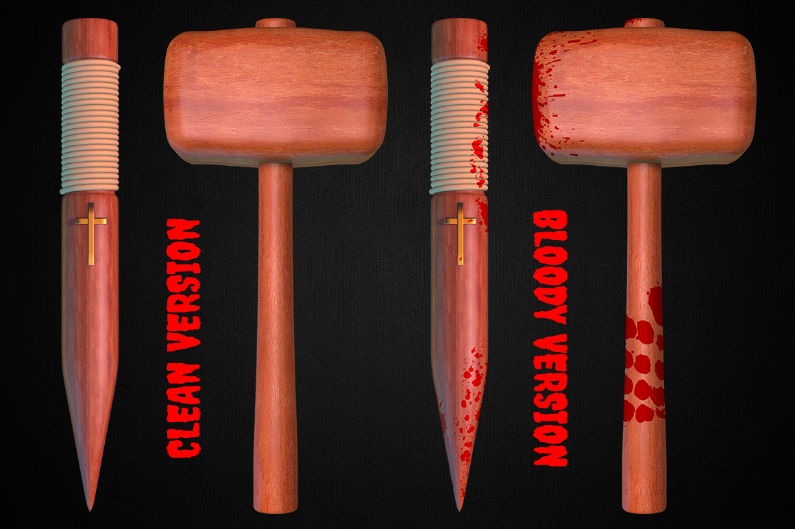 Vampire Hunting Items Collection example image 3