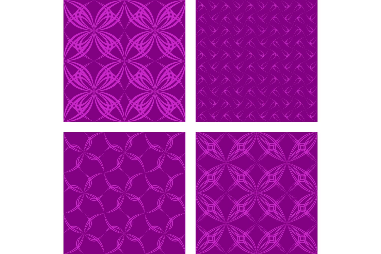 280 seamless symmetrical pattern backgrounds (AI, EPS, JPG 5000x5000) example image 2