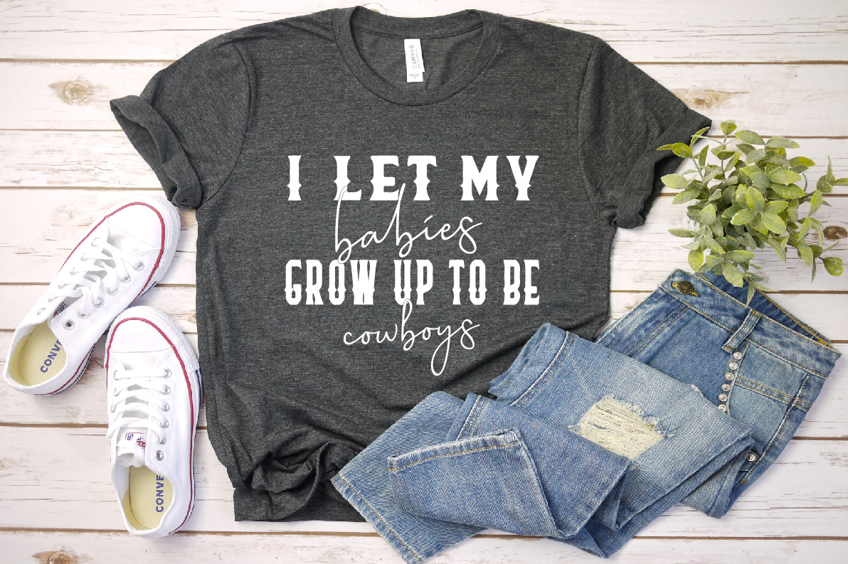 I let my babies GROW up to BE cowboys, 764 example image 1