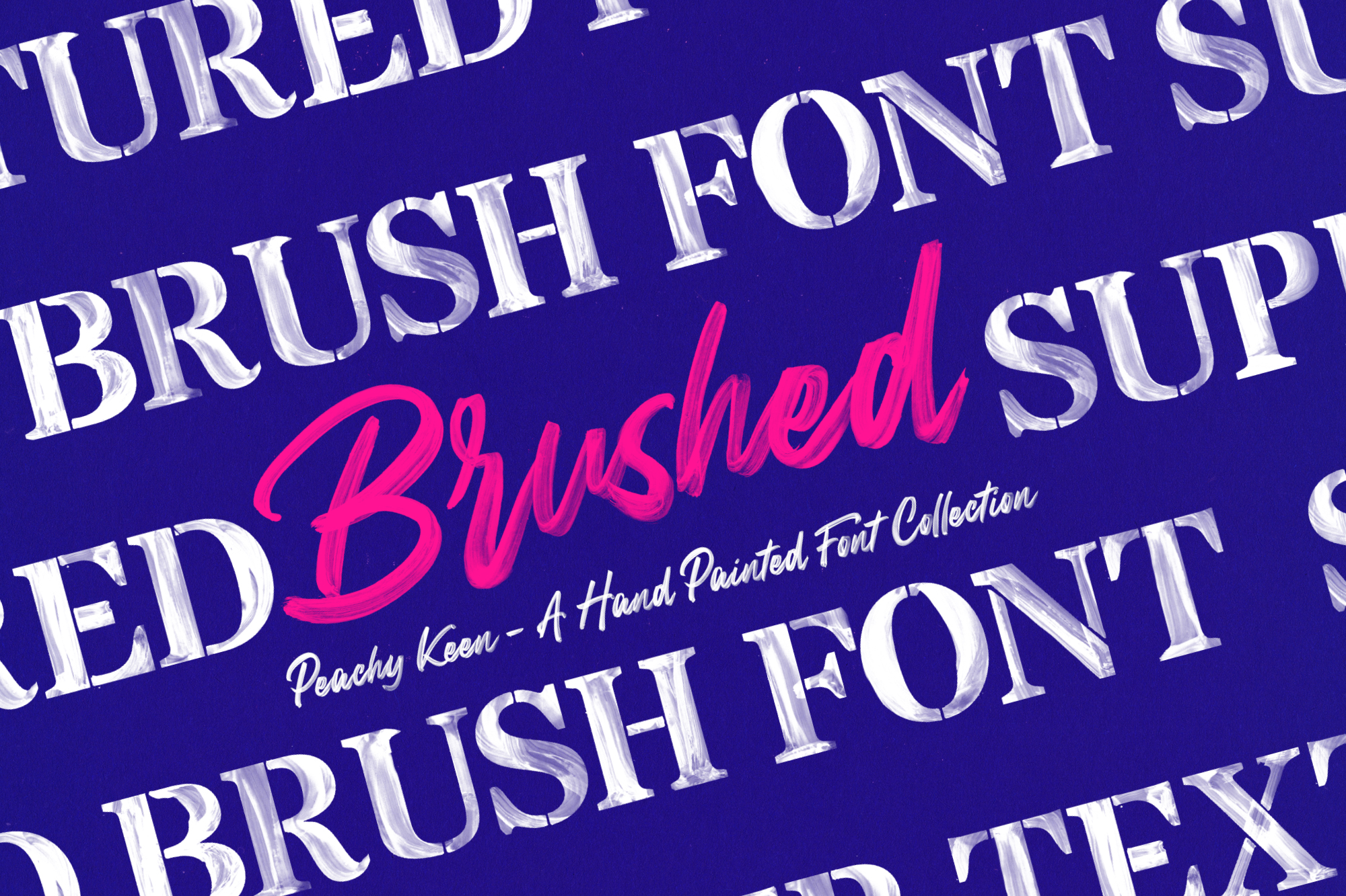 Peachy Keen Font Collection example image 3