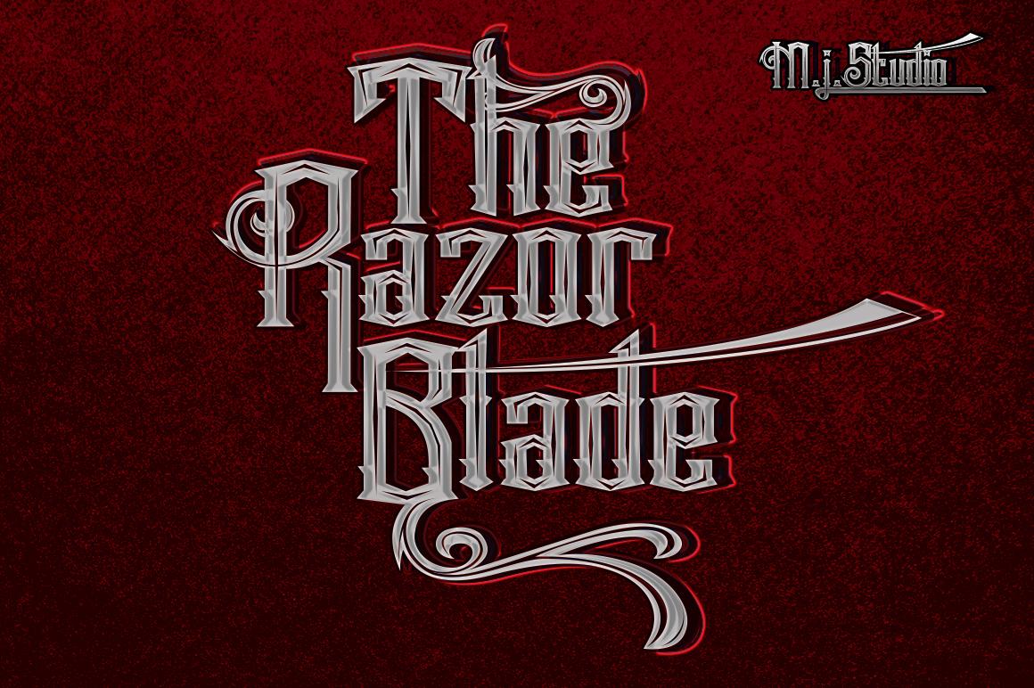 The Razor Blade example image 2