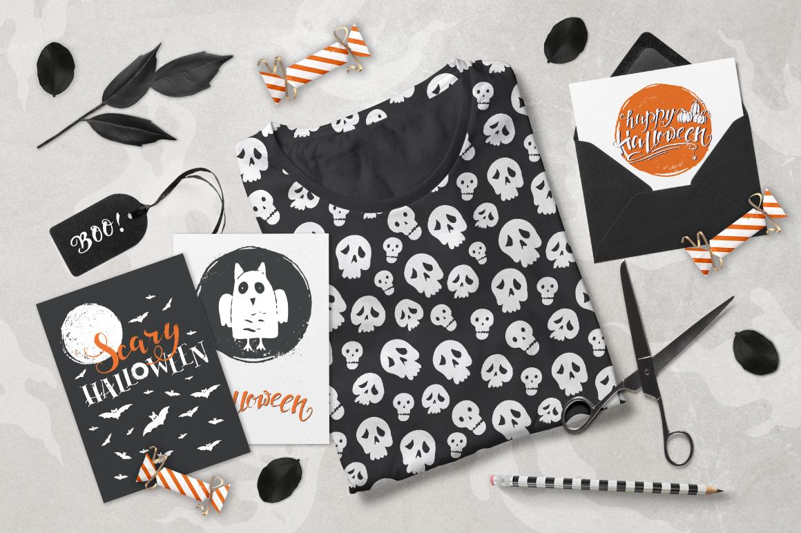 Halloween night Mega Pack! example image 14