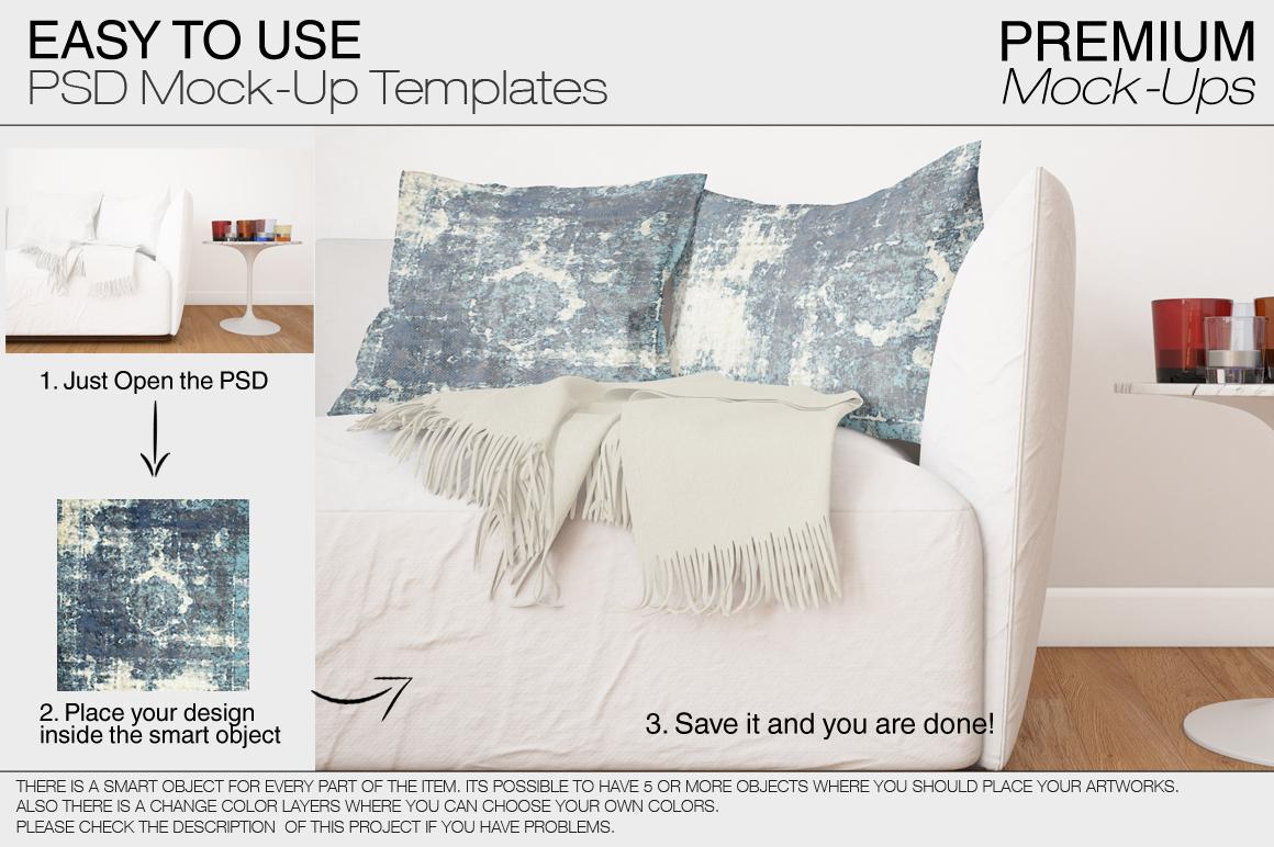 Pillow Mockup Set example image 10