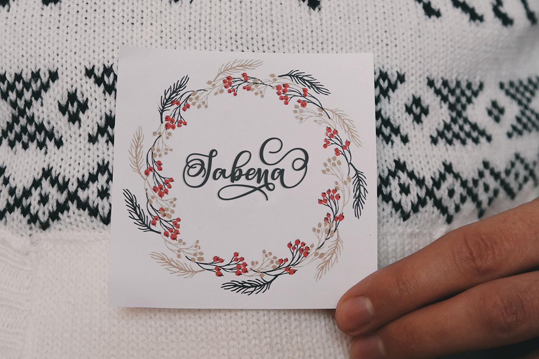 Sabena Script | Sweet Font example image 14