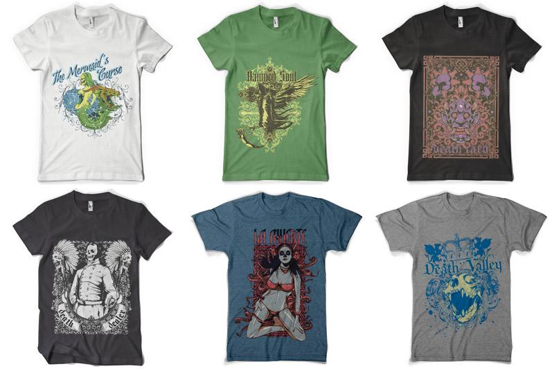 100 T-shirt Designs Vol 4 example image 5