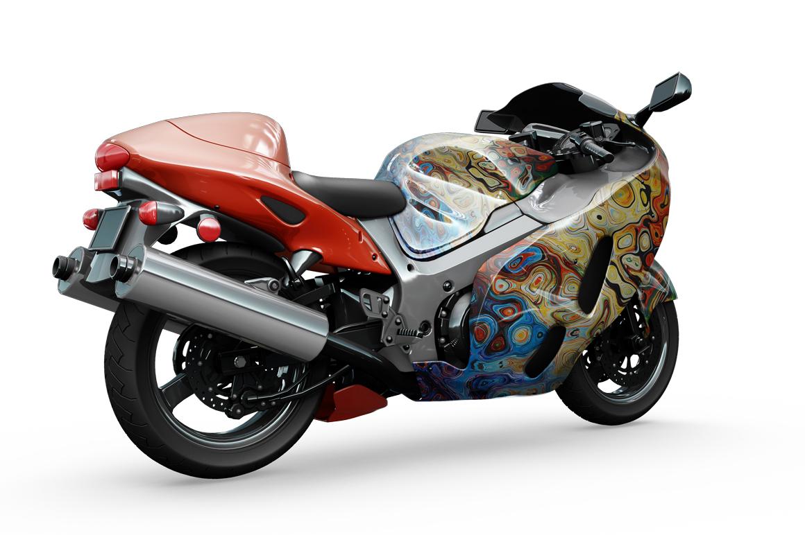 Motorcycle Mockup example image 4